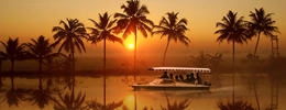 poovar Sunrise cruise houseboat images